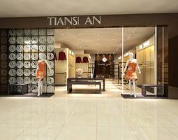 Tiansi An Store 3D model
