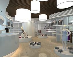 shopping malls 3D