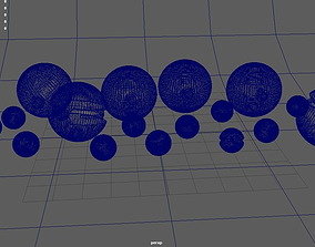 Pokeballs 3D print model