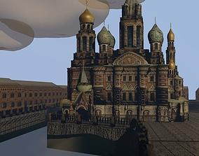 Church on Spilled Blood 3D model