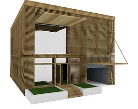 3D model Lath House