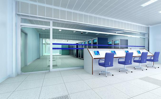 Operating Room plus Control Room3D model