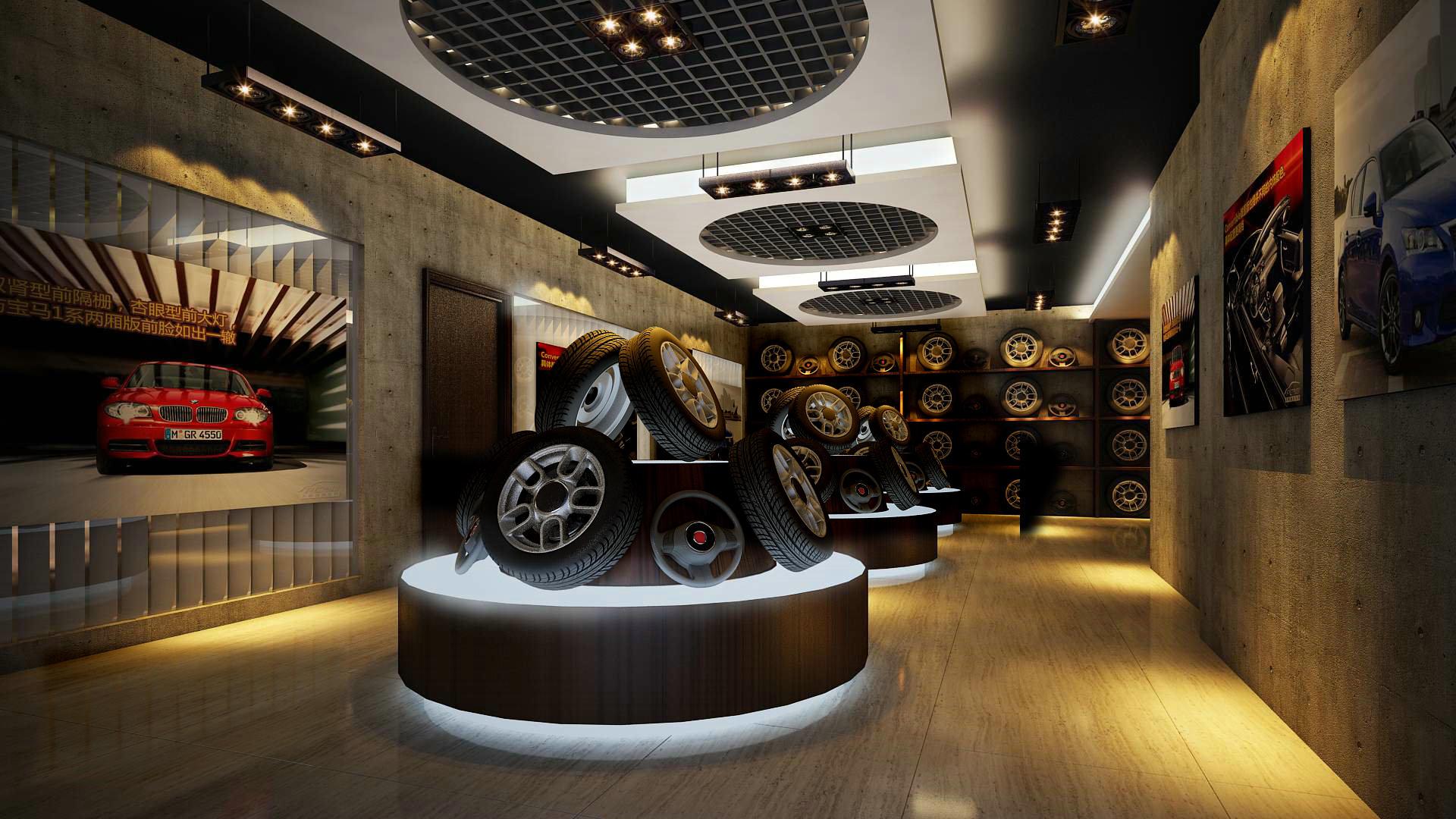 Store Interior Mall Architecture Modern Idea