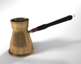 3D model Turkish Coffee Pot