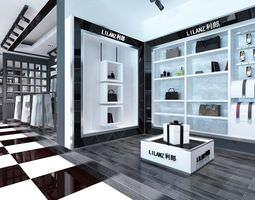 Li Lanz Store Interior 3D
