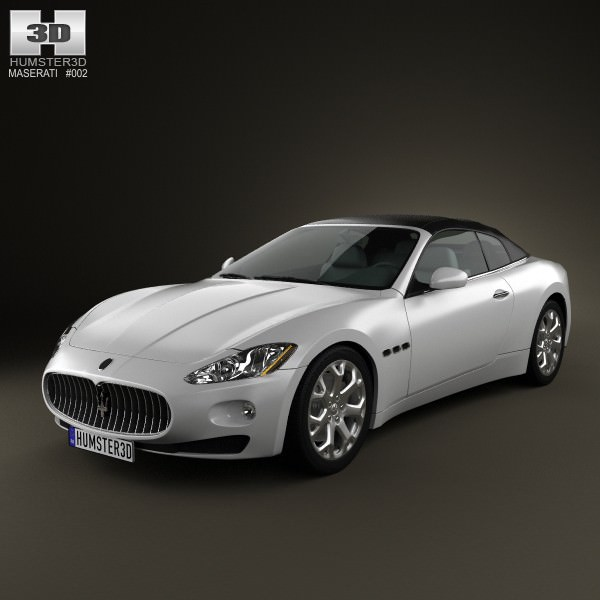 3D model Maserati GranCabrio 2011 | CGTrader