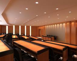 Elite Ladder Classroom 3D Model
