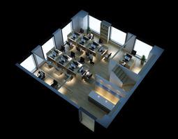 Workstation 3d models download 3d workstation files for Free 3d office planner