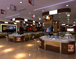 High-end Jewelry Store 3D