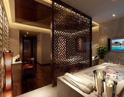 SPA Room with High-end Partition 3D