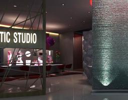 Cosmetic Studio SPA Room 3D model