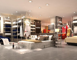 3D Spacious Furniture Store