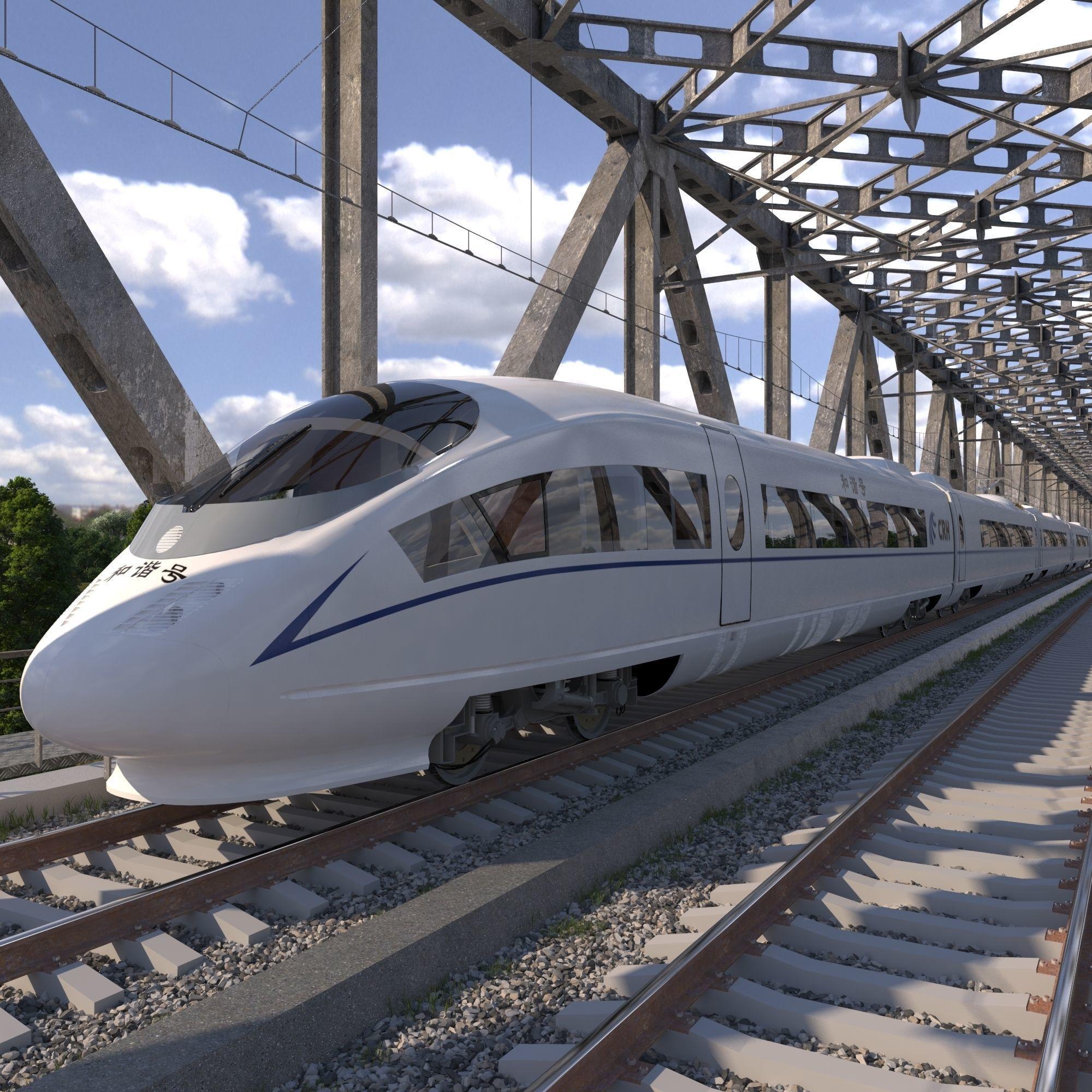 Hi-speed Electric Train Siemens Velaro CRH China