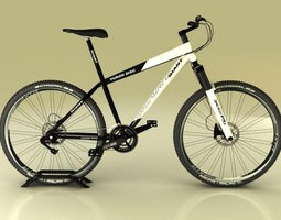 3D Mountain Bike Giant Yukon