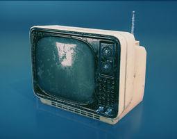 3D model Vintage TV