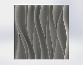 3D Wall Panel Waves