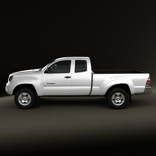 toyota tacoma access cab 2011 3d model max obj 3ds fbx c4d lwo lw lws. Black Bedroom Furniture Sets. Home Design Ideas