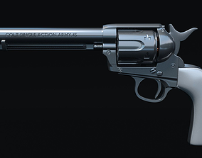 3D model Colt Single Action Army Revolver