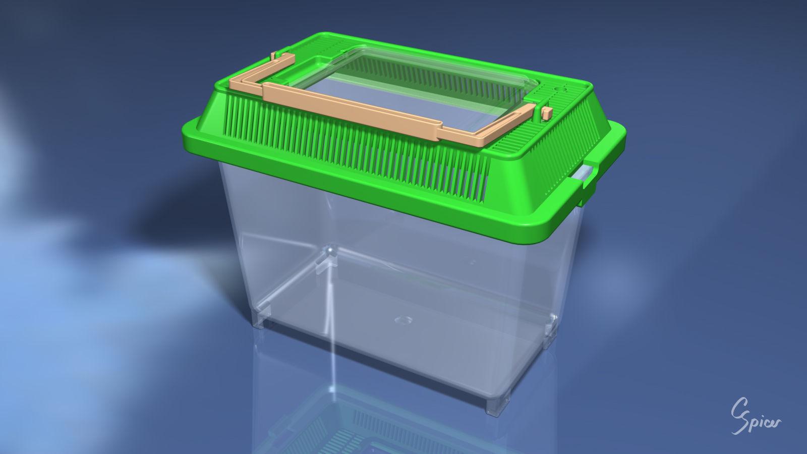 Small Plastic Terrarium