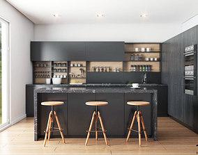 3D model Kitchen interior render