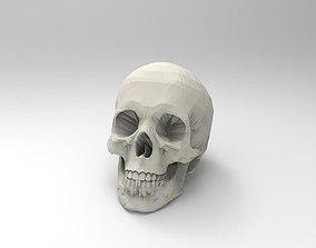 3D Printable Human Skull