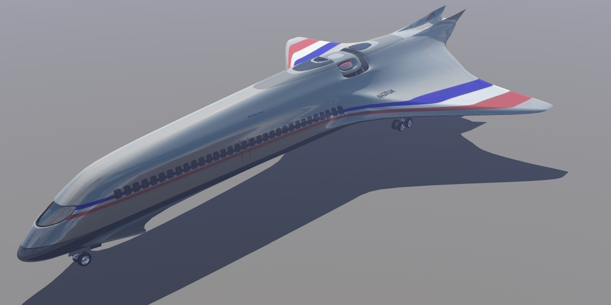 Phoenix Space Transport 3D Model .obj - CGTrader.com