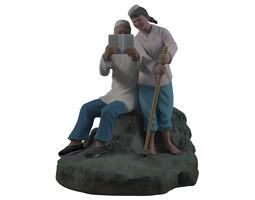 Hui ethnic Chinese 3D model