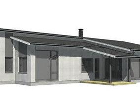 3D model Single Family House