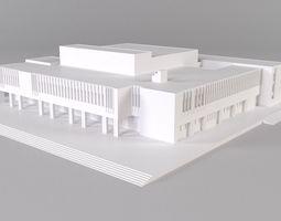 School model 3D