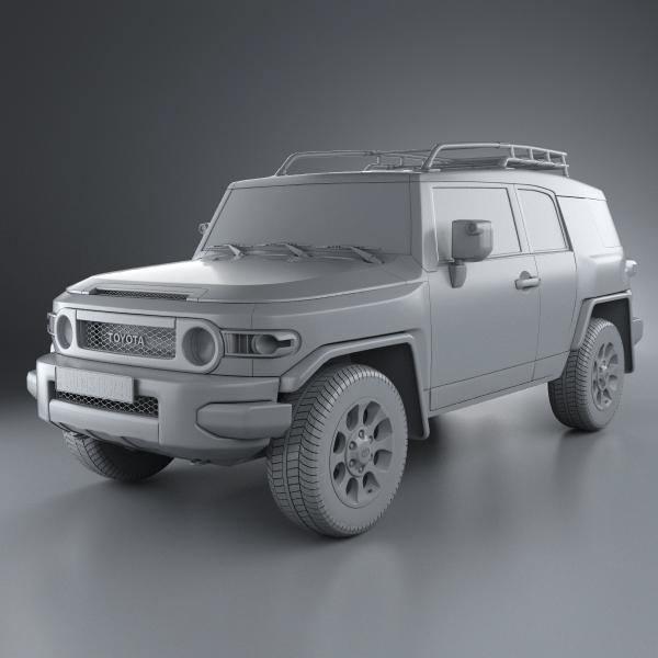 Toyota Land Cruiser FJ40 3D model   CGTrader