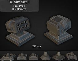 3D asset TD Sam Site 01