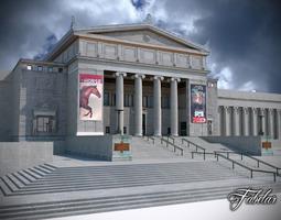 3D asset Building 07 Field Museum