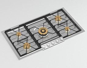 Gas Cooker for Kitchen 3D model