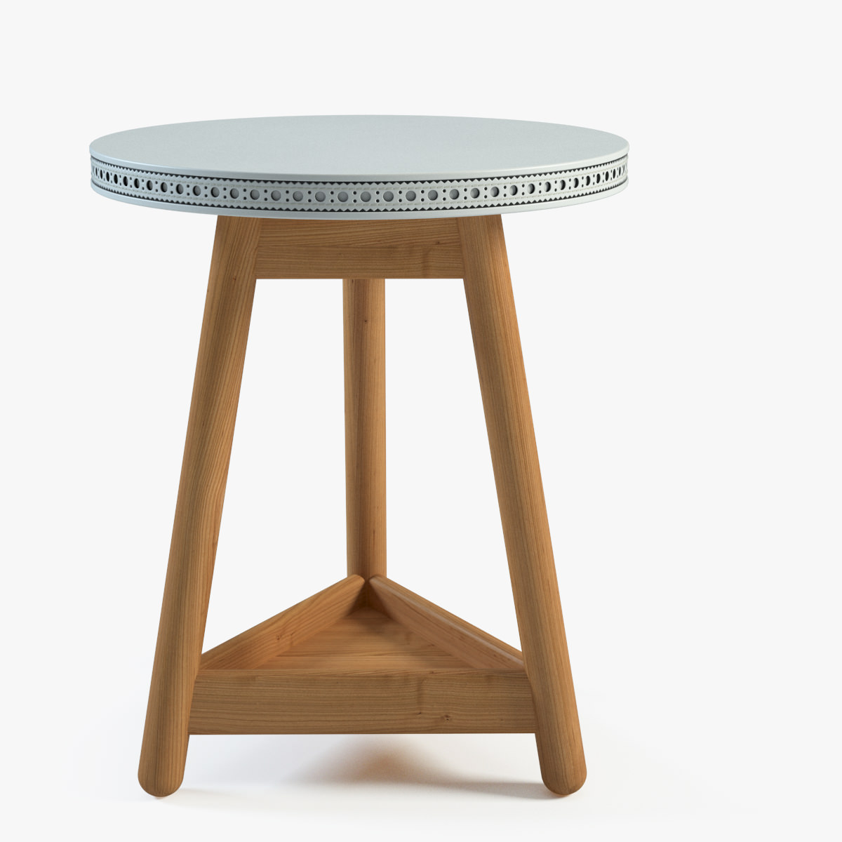 Brogue side table 3d model max for Table 3d model