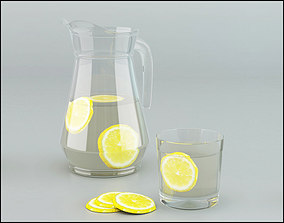 Glass Jug 3D