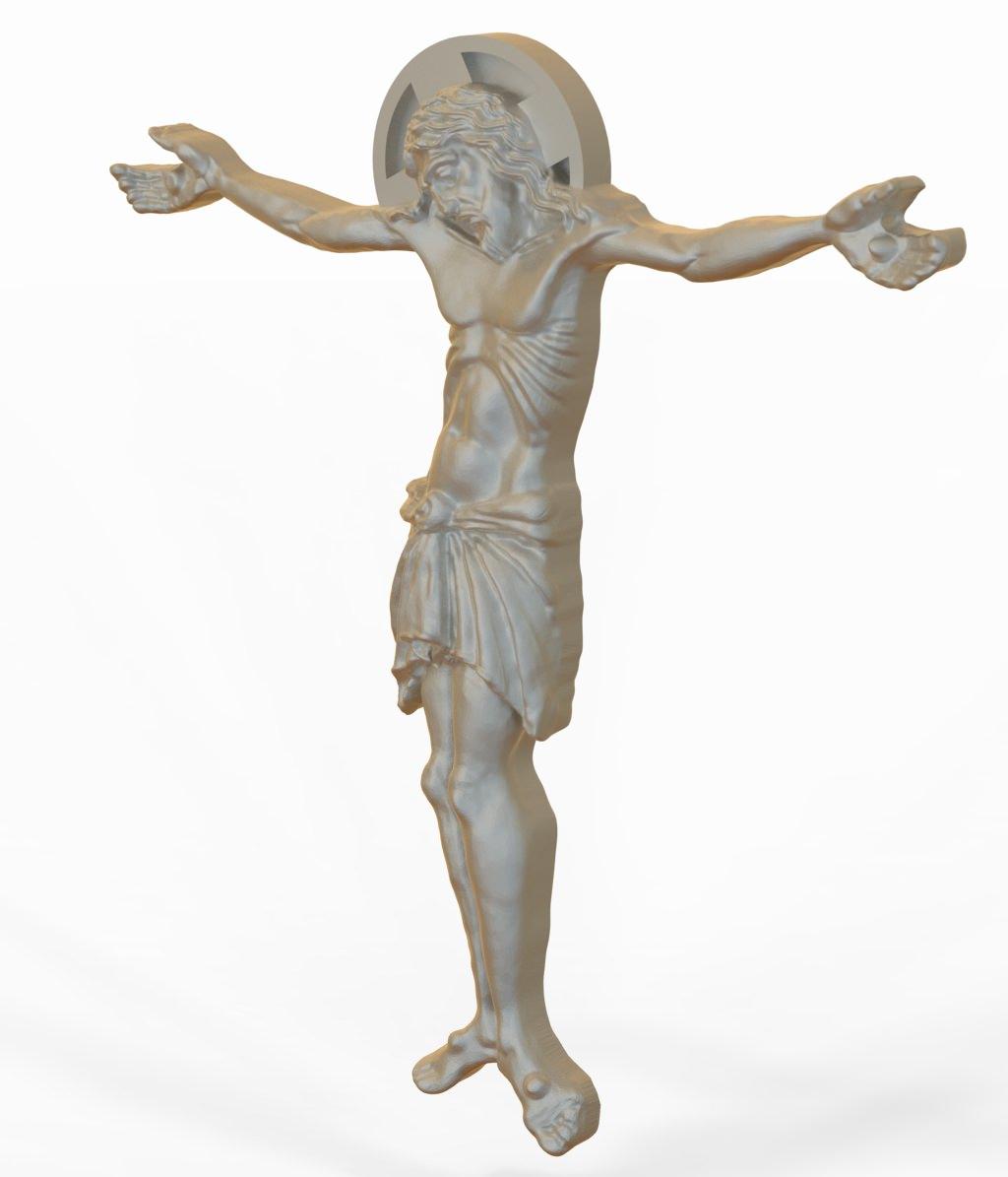 3D Model Jesus Christ STL 3D Model 3D Printable .stl