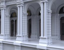 Simple Building 3D Model