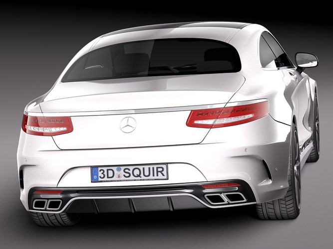 Mercedes benz s63 amg coupe 2015 3d model max obj 3ds for Mercedes benz warehouse jobs