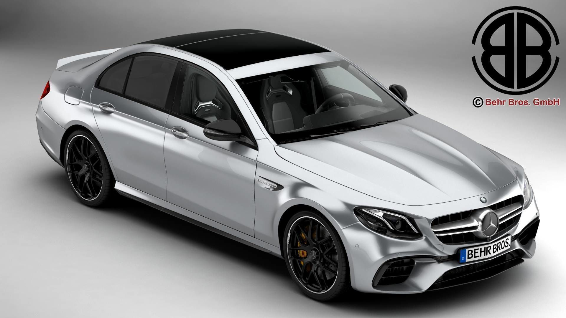 3D model Mercedes AMG E63 S 2018   CGTrader