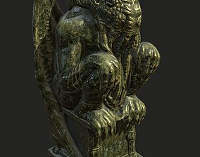 Cthulhu Statuette - low 3D model realtime