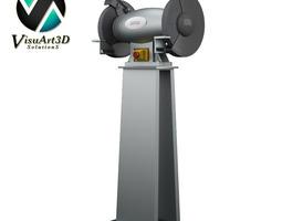 Grinder 2 disks 3D Model