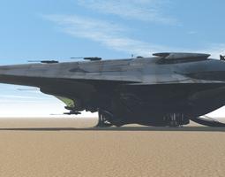 Proteus Cargo Ship 3D model