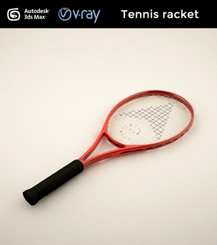 Tennis Racket3D model