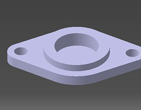3D print model bearings holder D26 B12 d8
