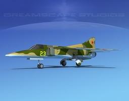 Mig-27 Flogger LP USSR 3D model