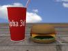 Cheeseburger 3D Model