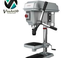 Drill table 3D Model
