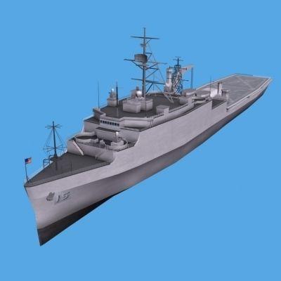 LHA Tarawa Assault Ship