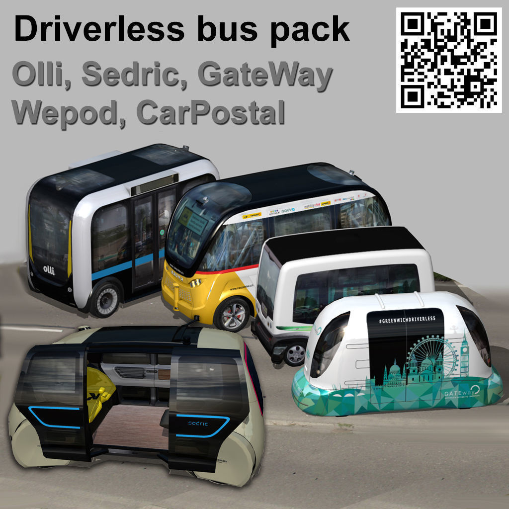Driverless Electric bus pack