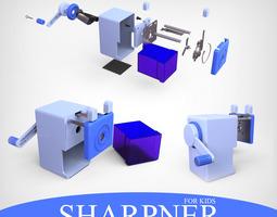3d model sharpner